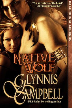 Native Wolf by Glynnis Campbell