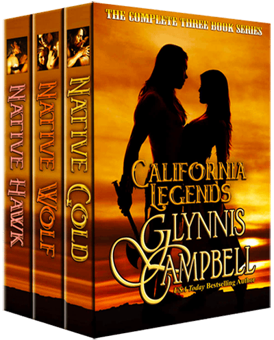 California Legends Boxed Set by Glynnis Campbell