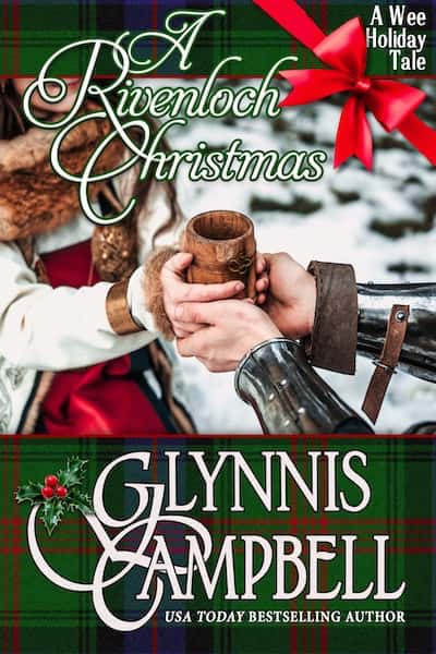Book cover for A Rivenloch Christmas by Glynnis Campbell