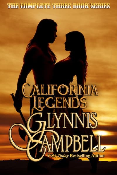 Book cover for California Legends Boxed Set by Glynnis Campbell