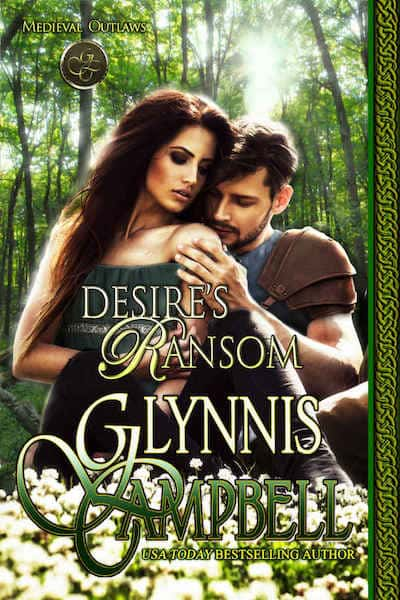 Book cover for Desire's Ransom (Medieval Romance) by Glynnis Campbell