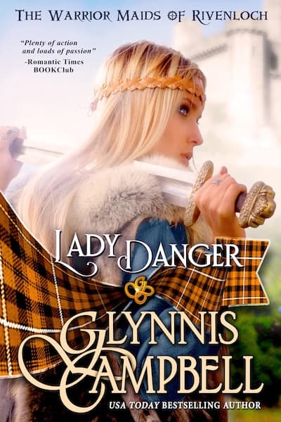 Book cover for Lady Danger by Glynnis Campbell