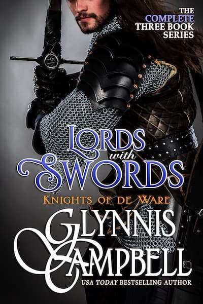 Book cover for Lords with Swords (The Knights of de Ware) by Glynnis Campbell