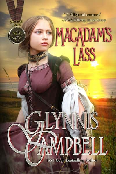 Book cover for MacAdam's Lass (Scottish Lasses) by Glynnis Campbell