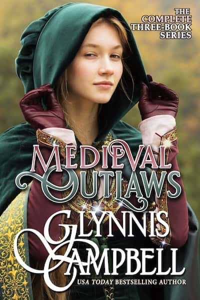 Book cover for Medieval Outlaws Boxed Set by Glynnis Campbell