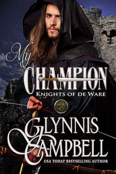 Book cover for My Champion (The Knights of de Ware) by Glynnis Campbell