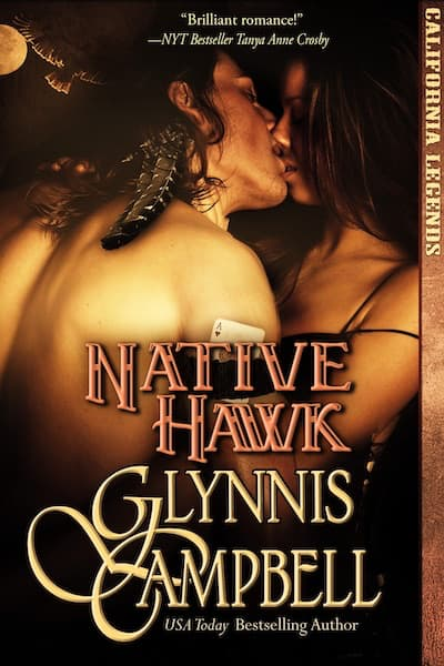 Book cover for Native Hawk (California Legends) by Glynnis Campbell