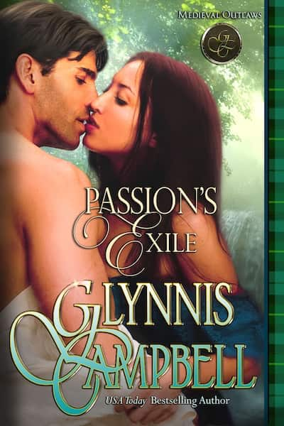 Book cover for Passion's Exile (Medieval Outlaws) by Glynnis Campbell
