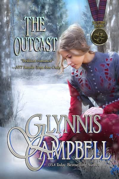 Book cover for The Outcast (Scottish Lasses) by Glynnis Campbell